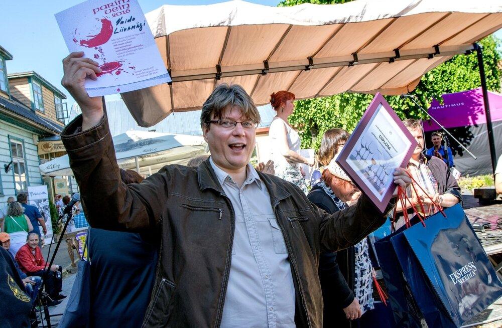 Veinikonkursi võitja Vaido Liivamägi ütleb, et veini valmistamise juures on kõige olulisem vast õigete maitsevarjundite tabamine.