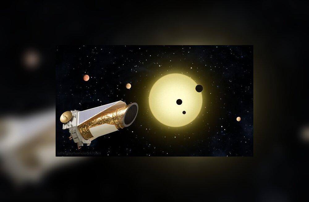 Võimalik, et isegi 7000 planeeti, neist 30 eluks sobivad - Kepleri teleskoobi panus seni