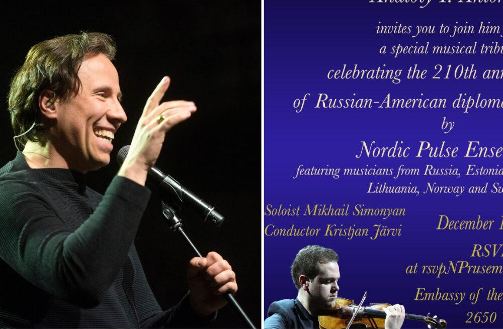 FOTO | Venemaa ja Ameerika diplomaatiliste suhete 210. aastapäeval dirigeerib Kristjan Järvi