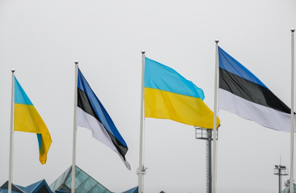 Ukraina president saabus Eestisse