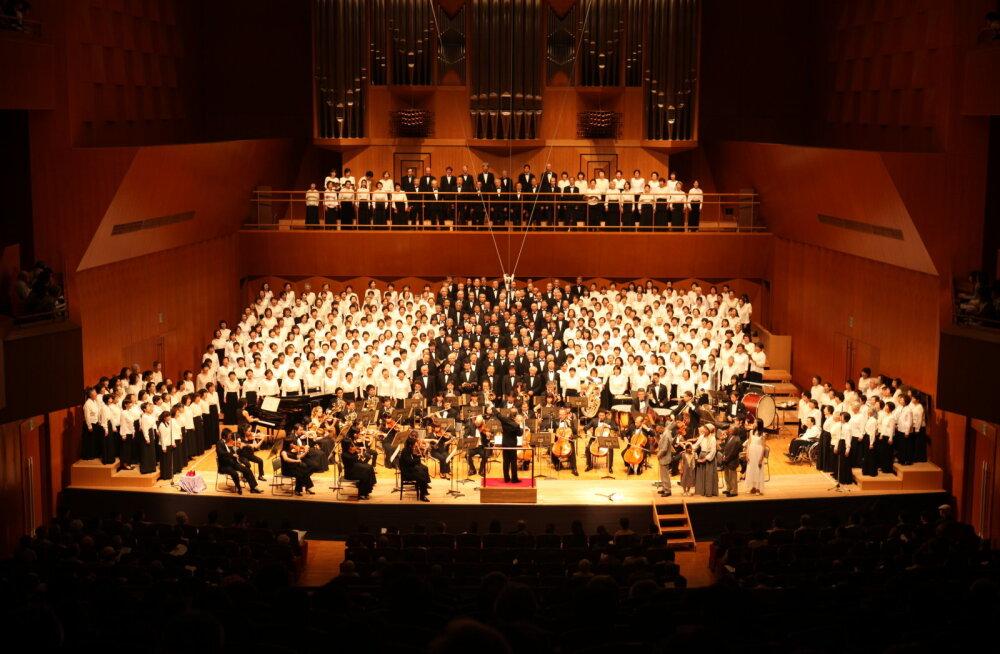 Концерт Всеяпонского сводного хора впервые в Таллинне!