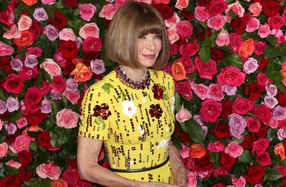 SUVINE STIILISPIKKER: Anna Wintouri kolmeosaline komplekt, mida ta on kandnud terve suve
