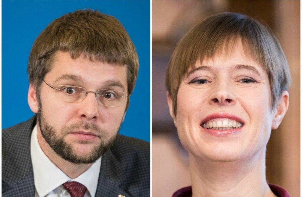 Jevgeni Ossinovski, Kersti Kaljulaid