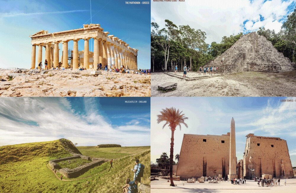 ANIMATSIOON | Sellised nägid välja seitse kuulsat ajaloolist ehitist värskelt valminuna