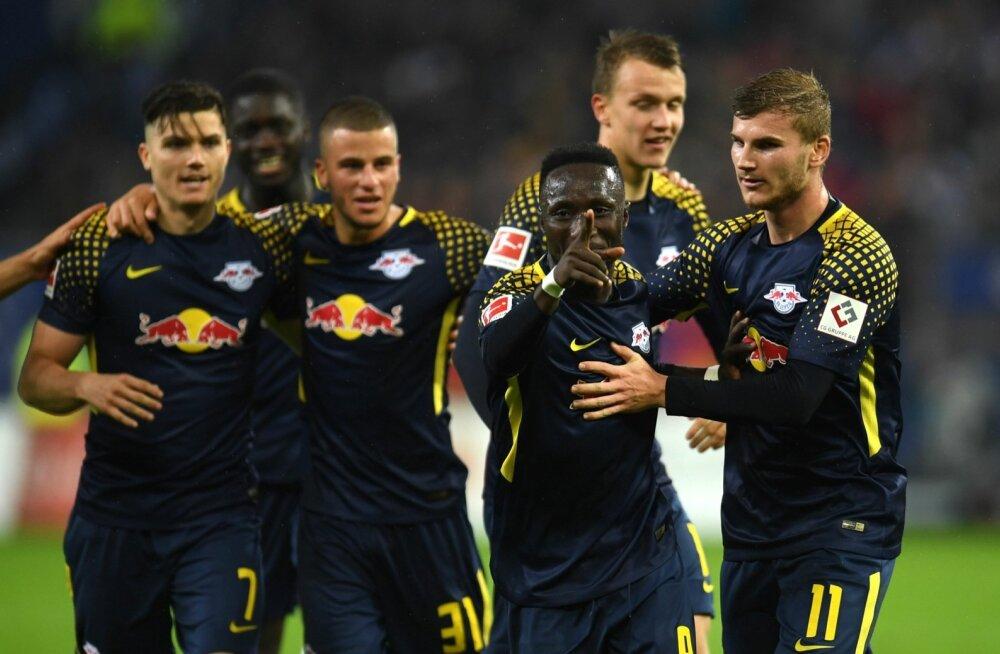 RB Leipzigi mängijad.