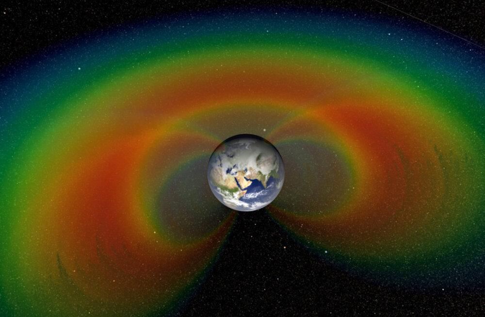 NASA avastus: raadioside on tekitanud Maa ümber kaitsva mulli