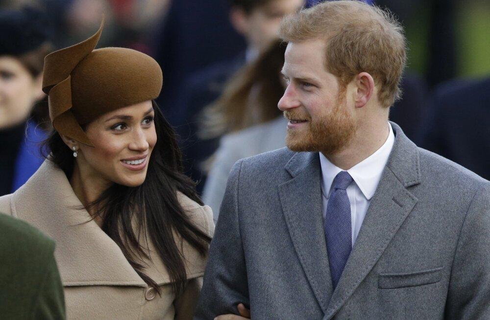 Prints Harry oma kihlatu Meghan Markle'iga