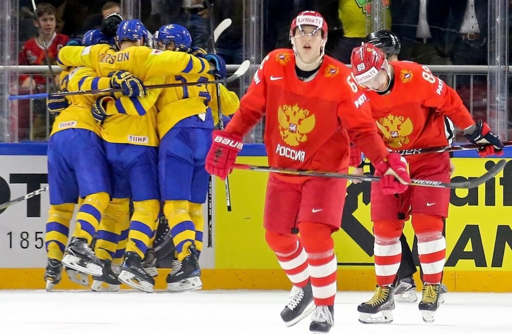 Võib arvata, et pärast veerandfinaale kordub sama pilt: Rootsi rõõmustab, Venemaal on nina norus.