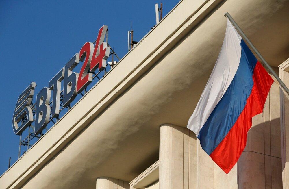 Venemaa VTB pank.