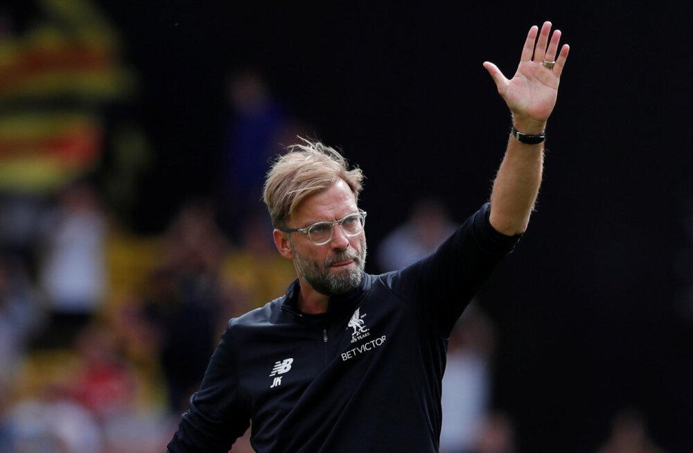 VIDEO | Liverpooli peatreener kritiseeris kohtunikke: viigivärav löödi suluseisust