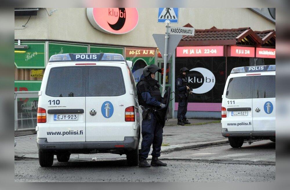 Soome politsei võttis kinni Hyvinkää tulistamises kahtlustatava