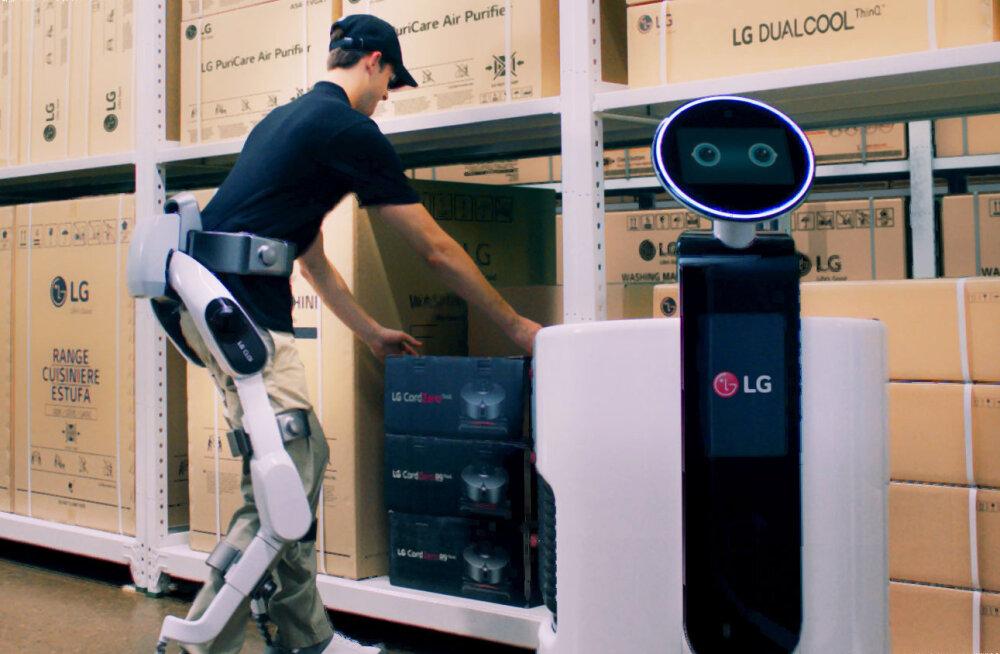 LG tutvustas kantavat eksoskelett-robotit, millest võib abi olla füüsilise puudega inimestele
