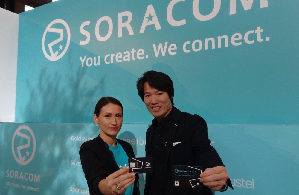 Jaapani tehnoloogia-idufirma pakub Eestis asjade internetti