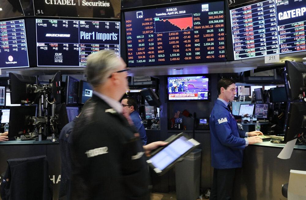 USA võlakirjade tootlus tõusis järsult