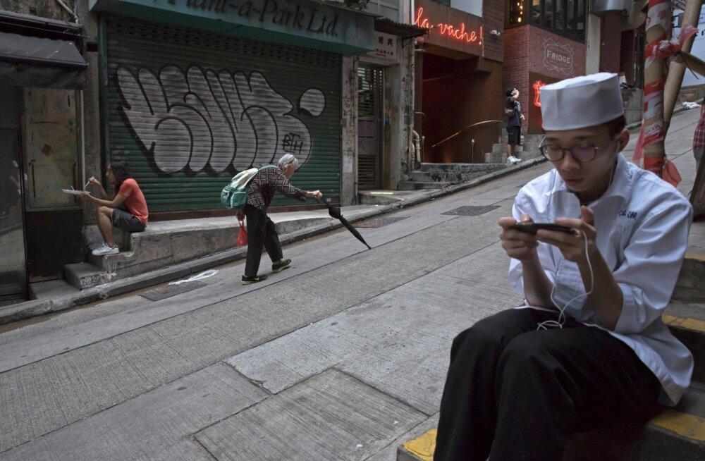 Statistika järgi muutuvad vanemate inimestega seotud mured järgmiste aastate jooksul üha ulatuslikumaks. Pildil stseen Hongkongi kesklinnast