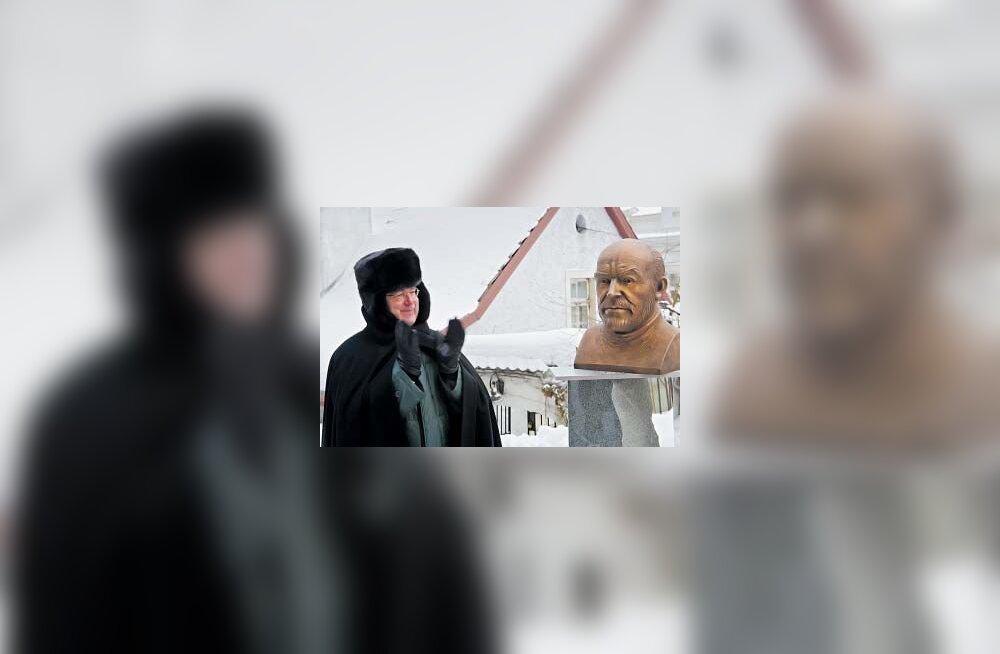 Tallinn sai Sean Connery büsti