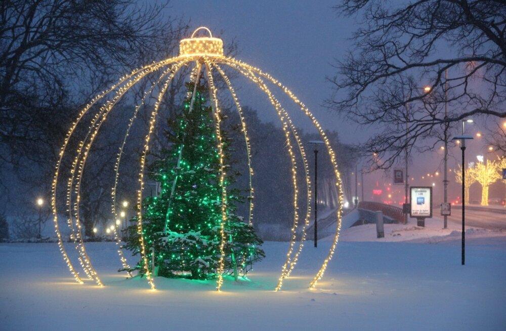 Вот это разброс температуры! Эстонские синоптики удивили предсказанием погоды на Новый год