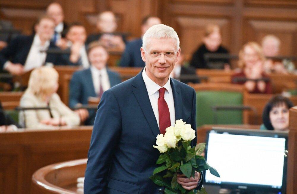 Läti uus peaminister Krišjānis Kariņš.