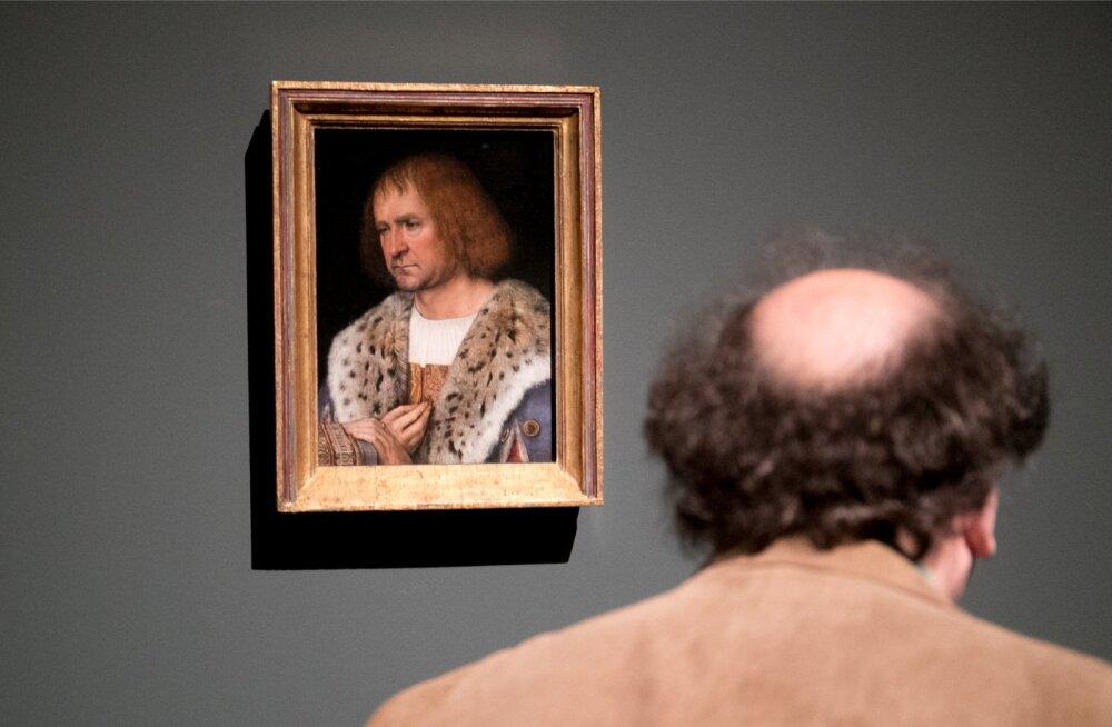 Michel Sittow' näituse avamine Kumus.