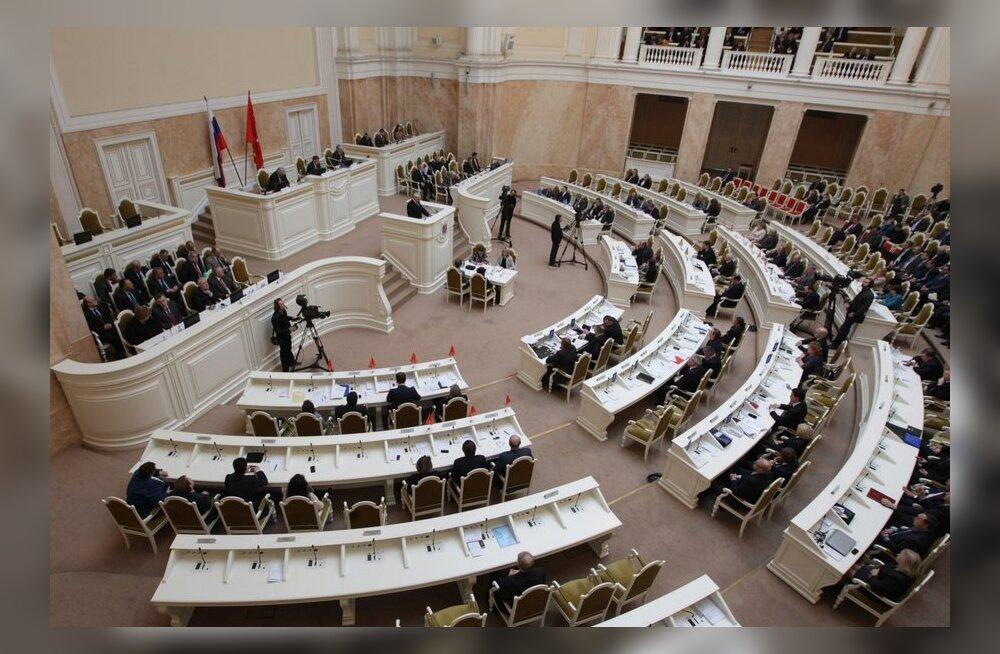 Eesti kodakondsusega Aleksei Timofejev oli sunnitud Peterburi seadusandlikust kogust lahkuma
