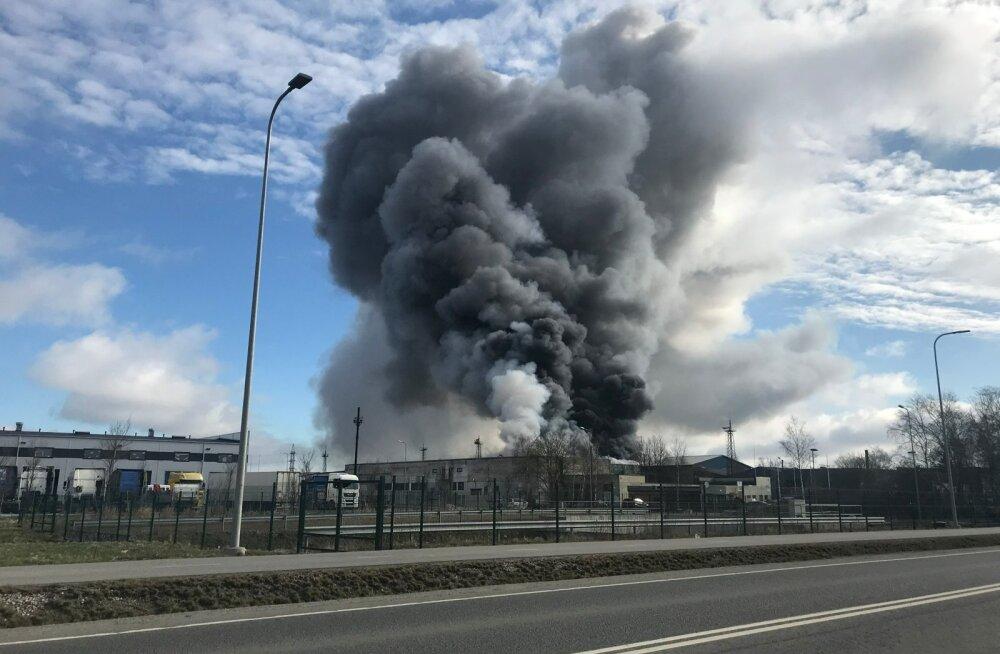 Ragn-sellsi jäätmejaama põleng