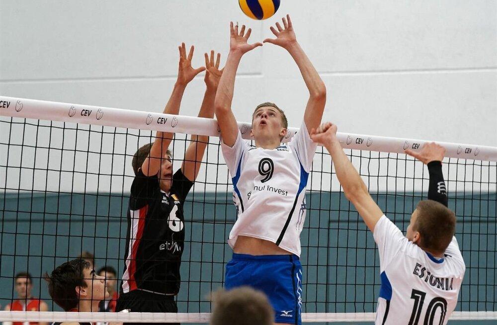 Eesti U18 koondis valiksarjas Belgia vastu