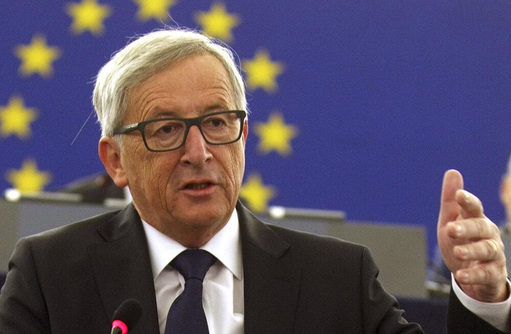 Juncker: liitumisläbirääkimised peatuvad, kui Türgi taastab surmanuhtluse