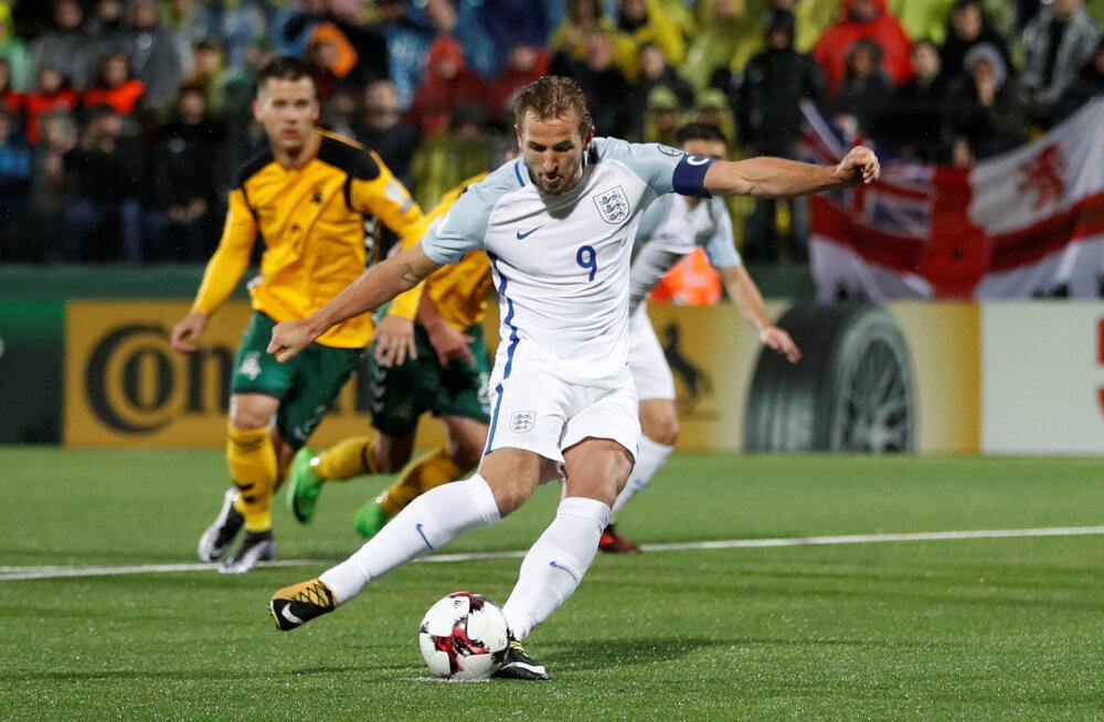 Inglismaa on MM-i eel hoolega penalteid harjutanud