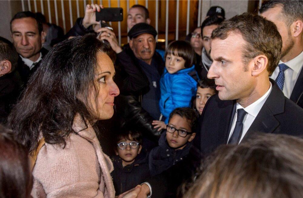 Macron lubas eluks ajaks vangistatud terroristi naisele, et tema poeg saab taas isa külastada.