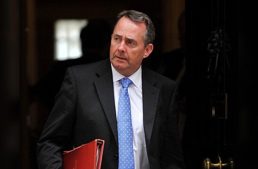 Rahvusvahelise kaubanduse minister Liam Fox