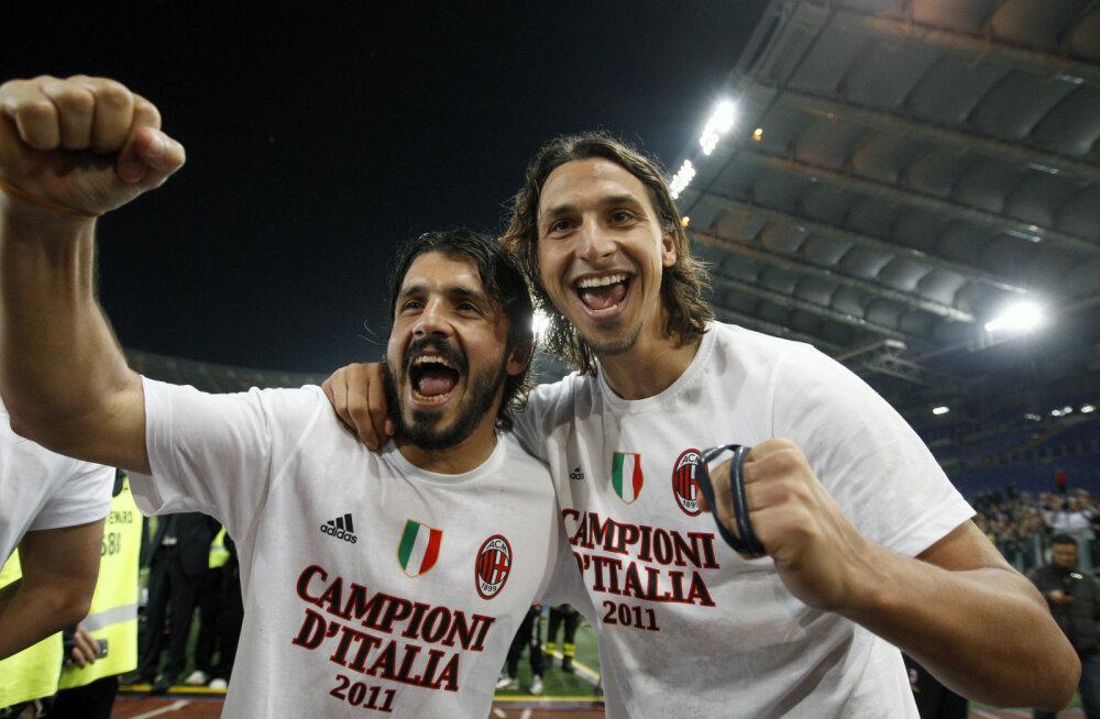 Gattuso ja Ibrahimovic