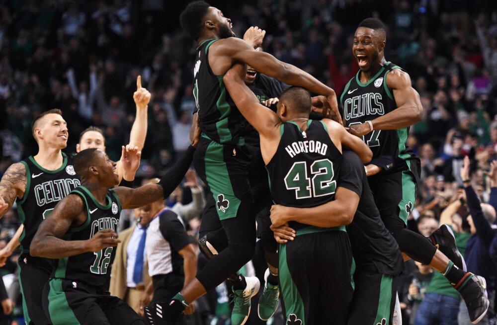 VIDEO | Horfordi viimase sekundi vise tõi Celticsile võidu, Lakers tõstab pead