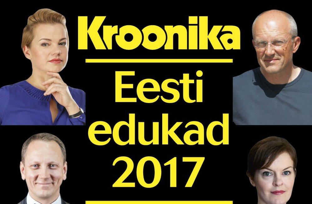 """VIIMANE VÕIMALUS! Kroonika eriväljaanne """"Eesti edukad 2017"""" viimaseid hetki müügis!"""