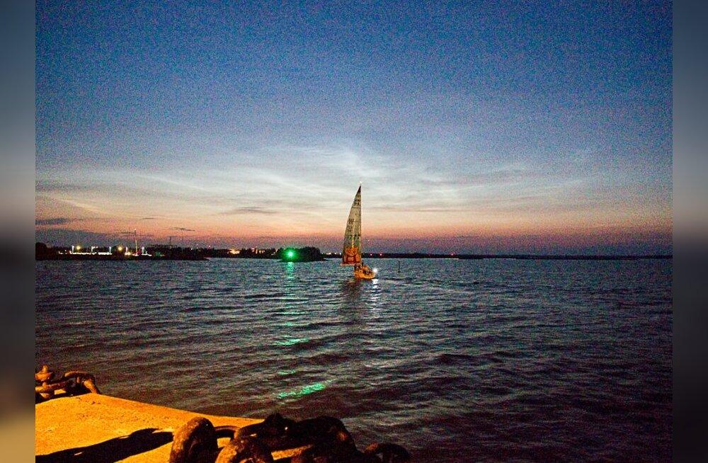 FOTOD: vaata, kuidas esimesed jahid ööpimeduses finišisse jõudsid!