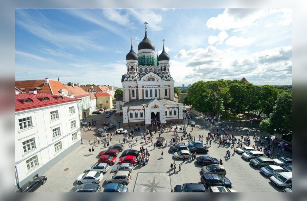 Aleksander Nevski katedraal Toompeal