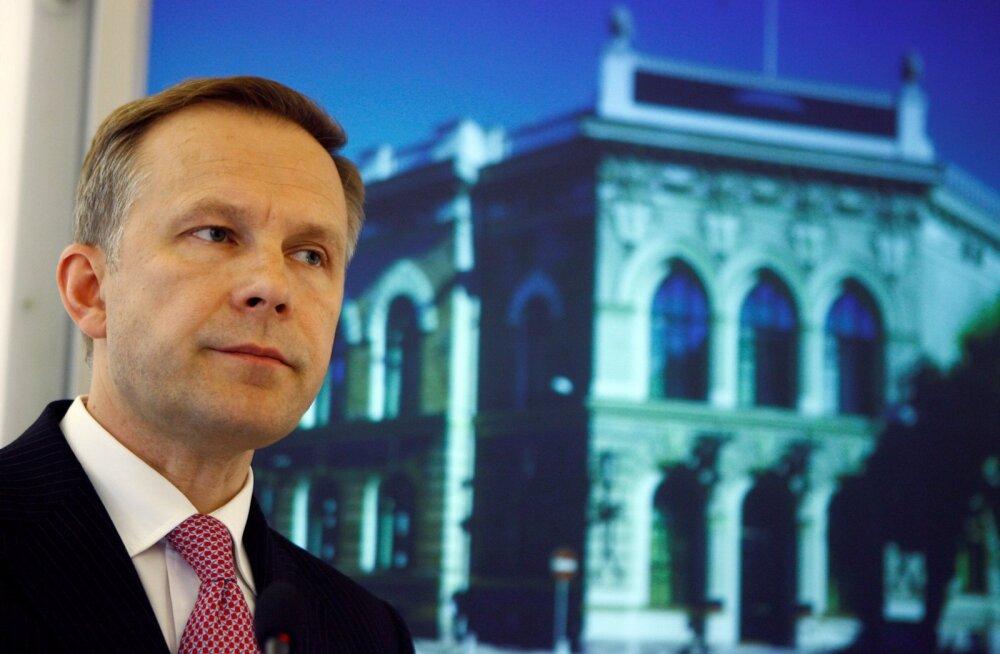 Läti keskpanga president  Ilmars Rimševics