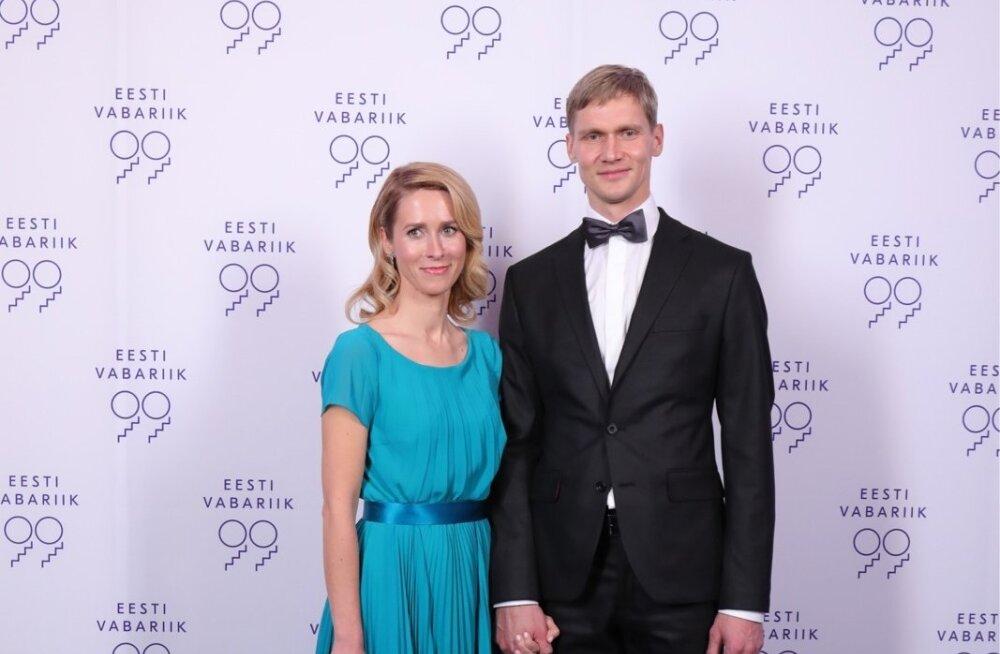 Kaja Kallas ja Arvo Hallik aastal 2017
