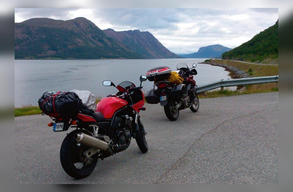 Nordkapp: 4000 kilomeetrine tsiklimatk ilma äärele