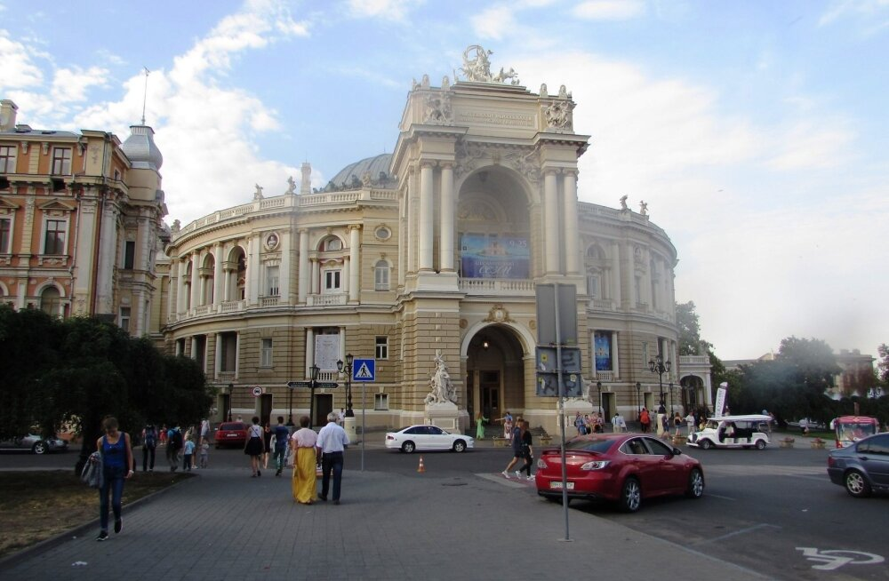 В Одессе состоялся литературный флешмоб, в котором участвовали эстонцы