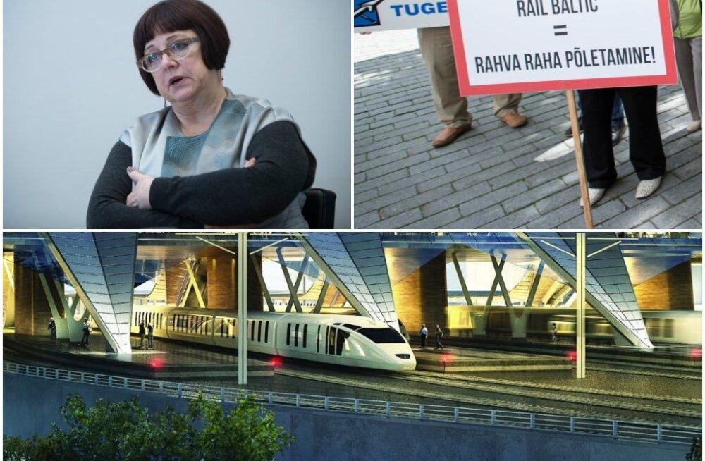 Директор Rail Baltic: представители стран Балтии пытаются направить проект в выгодную для своих кошельков сторону