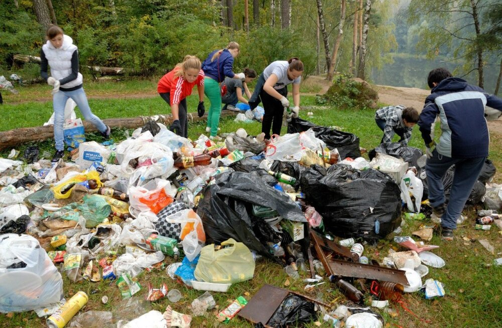 Всемирный день чистоты состоится при поддержке партнеров, обеспечивших толоки мешками для мусора