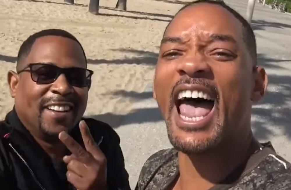 """Asi on ametlik: """"Pahad poisid 3"""" jõuab varsti kinodesse ning Smith ja Lawrence on tagasi"""