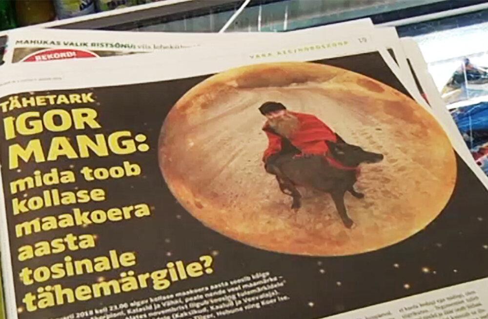 VIDEO   Kuidas sünnib ülipopulaarne horoskoop? Igor Mang: mulle annavad inspiratsiooni ka naised