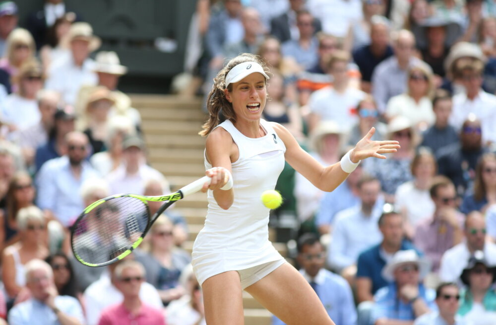 Brittide viimane lootus langes Wimbledoni poolfinaalis Williamsile