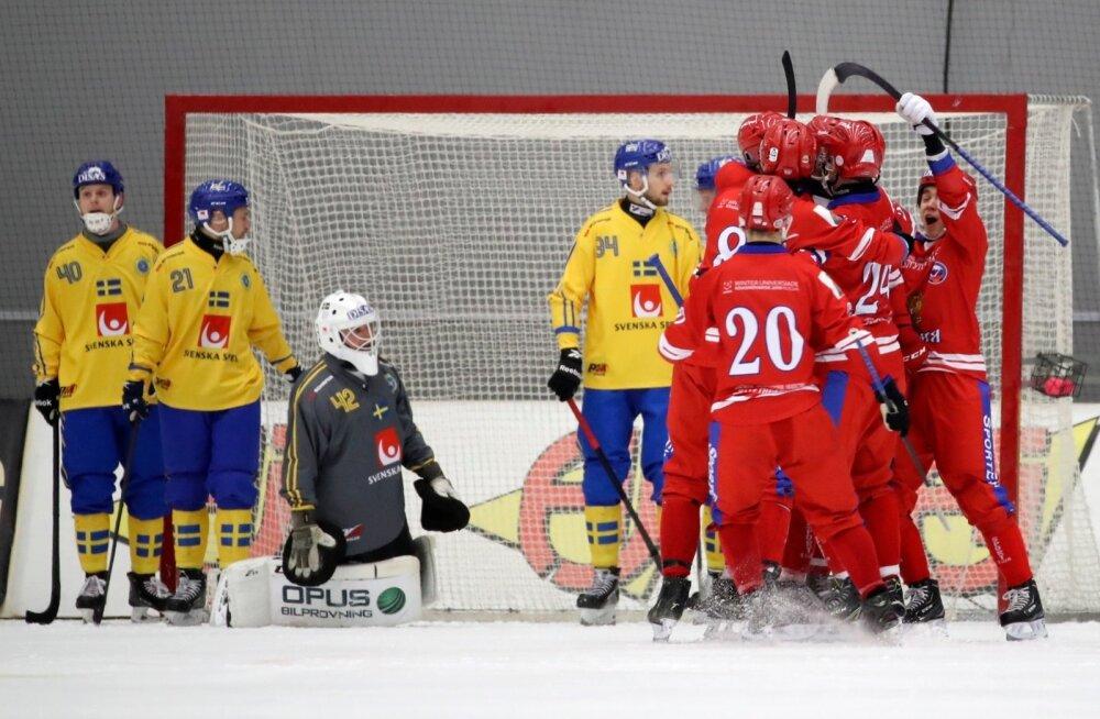 Jääpall Venemaa vs Rootsi