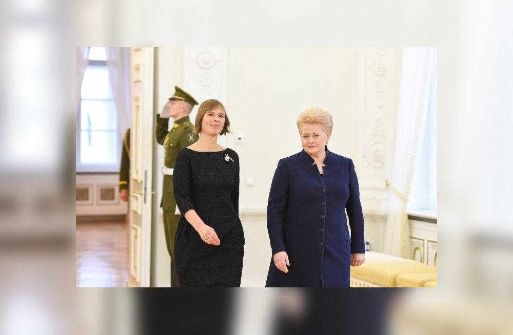 Kersti Kaljulaid ja Dalia Grybauskaitė