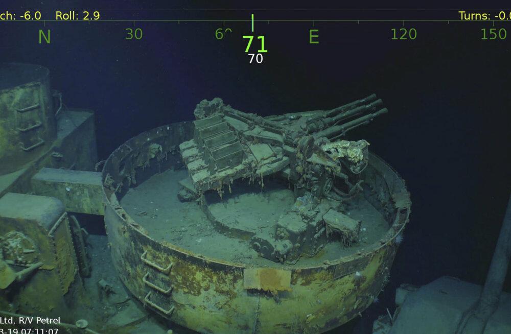 FOTOD JA VIDEO | Vaiksest ookeanist avastati Teises maailmasõjas hävinud laeva vrakk