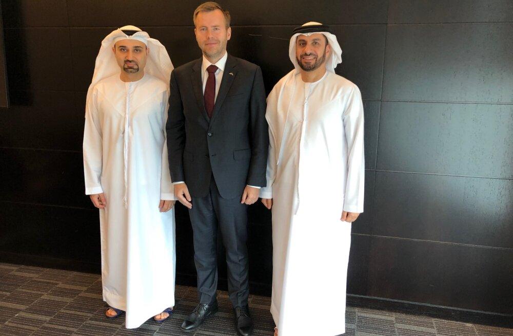 Emirates'i lennufirma bossid lubasid ettevõtlusministrile Tallinna liini tasuvuse tõsist kalkuleerimist