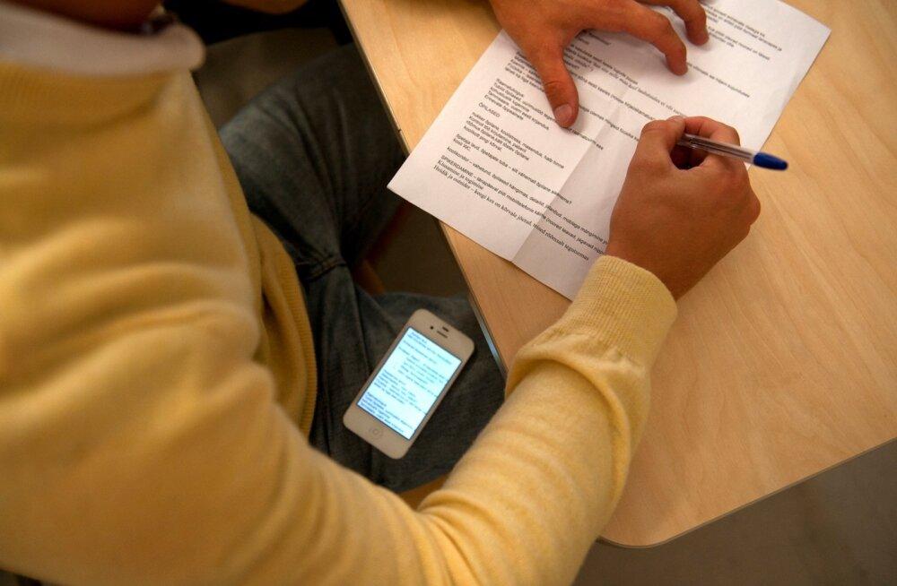 Студент ТТУ: смартфоны, жажда стипендии и снисходительность преподавателей сделали списывание массовым явлением