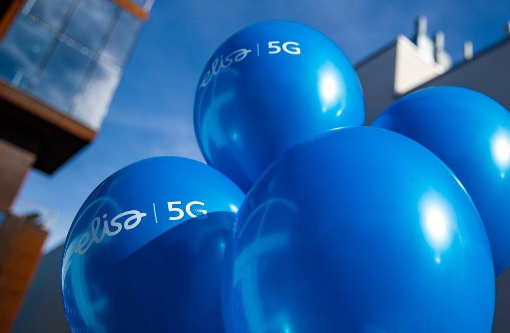 Esimese rahvusvaheline 5G kõne